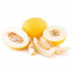Yellow melon - white pulp